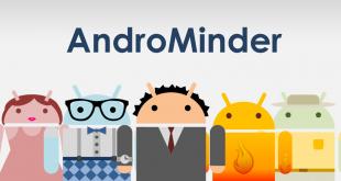 כחול-לבן: הכירו את אפליקציית AndroMinder (גוגל פליי)